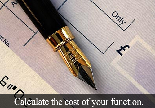 Cavendish Banqueting Cost Calculator